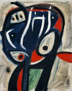 Joan Miró, Personaje, 1977. Cortesía: Fundación Mapfre, Madrid, 2017.