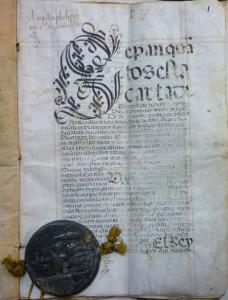 Lote 3082, Subasta 539, Carta de privilegio, Madrid, 1562. Enero 2017. Durán Arte y Subastas.