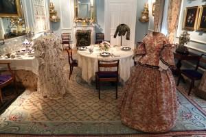 Trajes, La moda romántica. Cortesía: Museo del Romanticismo, Madrid, 2017.