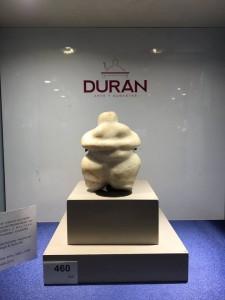 Lote 460, Subasta 540, Ídolo neolítico, 4.000-3.000 a.C. Febrero 2017. Durán Arte y Subastas.