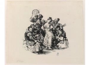 Patrimonio flamenco. El Vito, Francisco de Goya (1824-1825). BNE, Madrid, 2017.