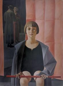 Retrato de Renato Gualino, Felice Casorati, 1923-1924. Fundación Mapfre. Madrid, 2017.