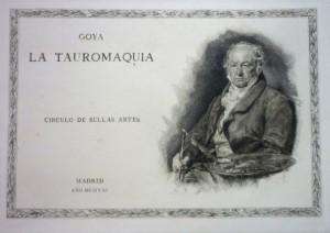 Lote 300 bis, Subasta 541, Tauromaquia, Francisco de Goya. Marzo 2017. Durán Arte y Subastas.