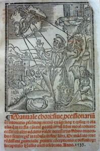 Lote 3060, Subasta 541, Manuale Chori, 1533. Marzo 2017. Durán Arte y Subastas.