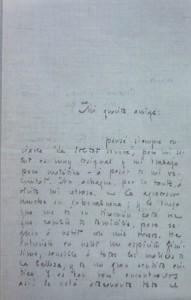 Lote 3068, Subasta 541, Juan Ramón Jiménez, carta manuscrita. Marzo 2017. Durán Arte y Subastas.