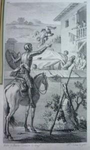 Lote 3070, Subasta 542. El ingenioso hidalgo Don Quixote de La Mancha, 1782. Abril 2017. Durán Arte y Subastas.