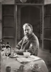Antonio García, El artista retratado en 1892 en su casa de El Campet, Valencia, 1892. Museo Sorolla. Madrid, 2017.