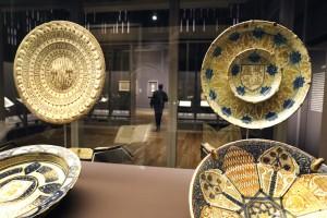 Tesoros de la Hispanic Society of America, vista de la exposción. Hispanic Scciety en el Museo Nacional del Prado. Madrid, 2017.
