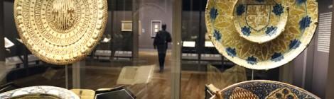 """Imagen en sala de la exposición """"Tesoros de la Hispanic Society of America. Visiones del mundo hispánico"""". Foto © Museo Nacional del Prado. Cortesía: Museo Nacional del Prado, Madrid, 2017."""