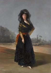 La Duquesa de Alba, Goya, 1796-1797. Hispanic Society en el Museo Nacional del Prado. Madrid, 2017.