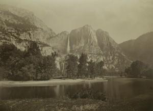 Carleton E. Watkins, Cataratas Yosemite. Ochocientos tres metros. Casa de América, Madrid, 2017.