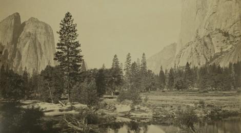 Vista hacia el Valle Yosemite. Watkins, Carleton E. 1863-1866. Casa de América. Cortesía Casa de América, 2017.
